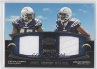 Jordan Todman, Vincent Brown /398