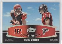 A.J. Green, Julio Jones /25