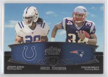 2011 Topps Prime Dual Combo #DC-AR - Joseph Addai, Stevan Ridley