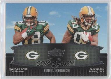 2011 Topps Prime Dual Combo #DC-CG - Randall Cobb, Alex Green