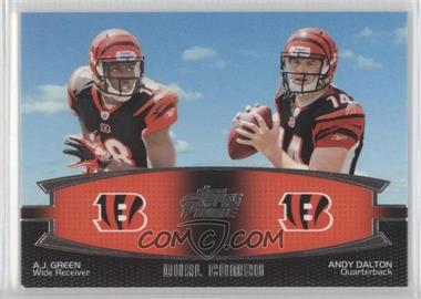 2011 Topps Prime Dual Combo #DC-GJ - A.J. Green, Julio Jones