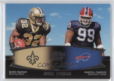 2011 Topps Prime Dual Combo #DC-ID - Mark Ingram, Marcell Dareus