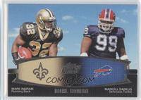 Mark Ingram, Marcell Dareus