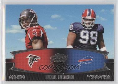 2011 Topps Prime Dual Combo #DC-JD - Julio Jones, Marcell Dareus