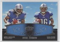 Mikel Leshoure, Titus Young