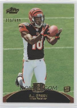 2011 Topps Prime Gold #31 - A.J. Green /699