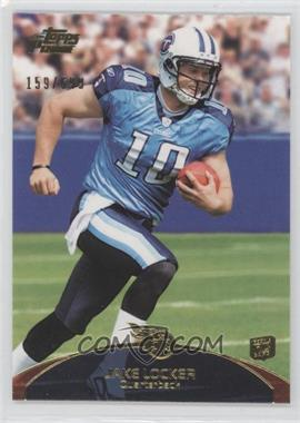 2011 Topps Prime Gold #82 - Jake Locker /699