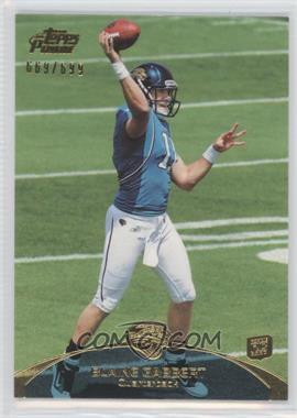2011 Topps Prime Gold #83 - Blaine Gabbert /699