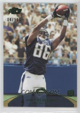 2011 Topps Prime Green #143 - Vincent Brown /99