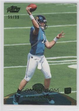 2011 Topps Prime Green #83 - Blaine Gabbert /99