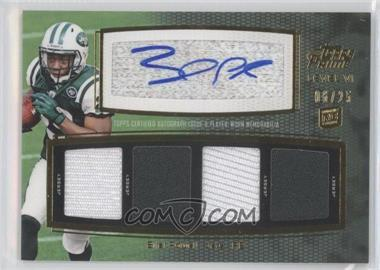 2011 Topps Prime Level VI Autographed Relic Gold #PVI-BP - Bilal Powell /25