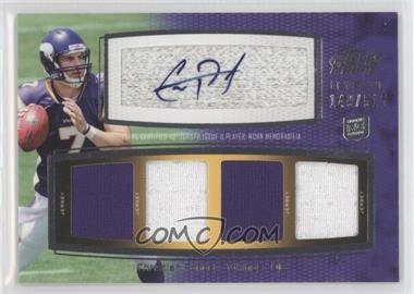 2011 Topps Prime Level VI Autographed Relic #PVI-CP - Christian Ponder /515