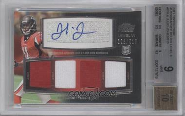 2011 Topps Prime Level VI Autographed Relic #PVI-JJ - Julio Jones /515 [BGS 9]