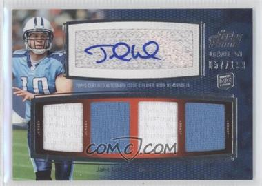 2011 Topps Prime Level VI Autographed Relic #PVI-JL - Jake Locker