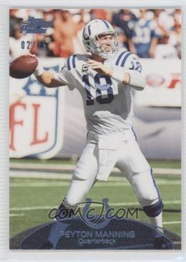 2011 Topps Prime Powder Blue #100 - Peyton Manning /75