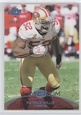 2011 Topps Prime Powder Blue #126 - Patrick Willis /75