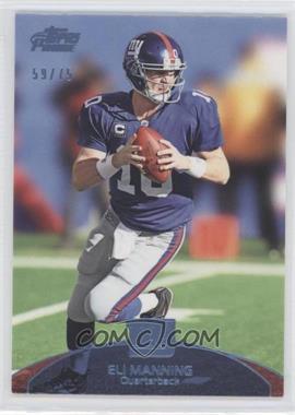 2011 Topps Prime Powder Blue #49 - Eli Manning /75