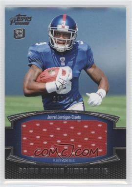 2011 Topps Prime Prime Rookie Jumbo Relics #PRJ-JJE - Jerrel Jernigan /318