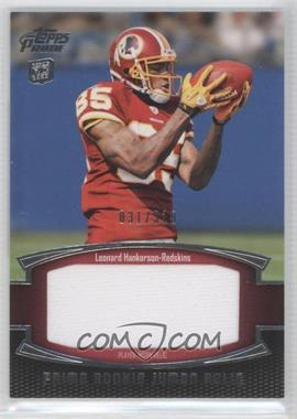 2011 Topps Prime Prime Rookie Jumbo Relics #PRJ-LH - Leonard Hankerson /318