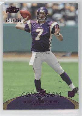 2011 Topps Prime Purple #61 - Christian Ponder /399
