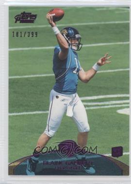 2011 Topps Prime Purple #83 - Blaine Gabbert /399