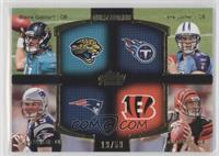 Blaine Gabbert, Jake Locker, Ryan Mallett, Andy Dalton /50