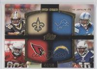 Mark Ingram, Ryan Williams, Jordan Todman, Mikel Leshoure /50