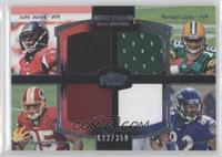 Julio Jones, Randall Cobb, Torrey Smith /350