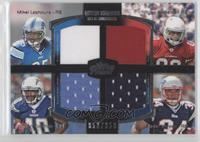 Mike Leach, Ryan Williams, Jordan Todman, Shane Vereen /350