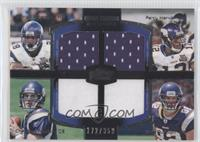 Adrian Peterson, Percy Harvin, Christian Ponder, Kyle Rudolph /350