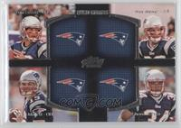 Tom Brady, Ryan Mallett, Wes Welker, Shane Vereen