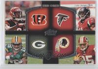 A.J. Green, Julio Jones, Randall Cobb, Leonard Hankerson