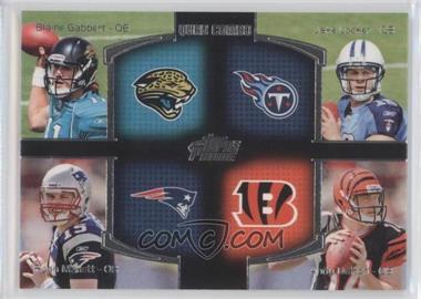 2011 Topps Prime Quad Combo #QC-GLMD - Blaine Gabbert, Jake Locker, Ryan Mallett, Andy Dalton