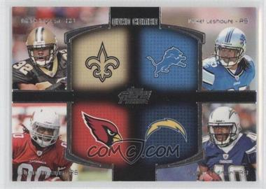 2011 Topps Prime Quad Combo #QC-ILWT - Mark Ingram, Mike Leach, Ryan Williams, Jordan Todman