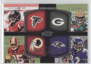 2011 Topps Prime Quad Combo #QC-JCHS - Julio Jones, Randall Cobb, Torrey Smith, Leonard Hankerson