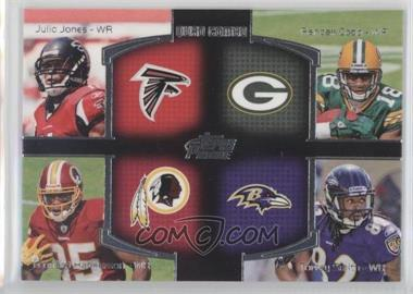 2011 Topps Prime Quad Combo #QC-JCHS - Julio Jones, Randall Cobb, Torrey Smith