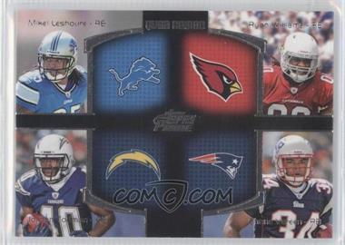 2011 Topps Prime Quad Combo #QC-LWTV - Ryan Williams, Jordan Todman, Shane Vereen