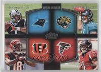 Cam Newton, A.J. Green, Blaine Gabbert, Julio Jones