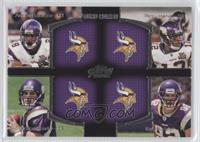 Adrian Peterson, Percy Harvin, Christian Ponder, Kyle Rudolph