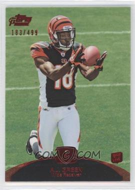 2011 Topps Prime Red #31 - A.J. Green /499