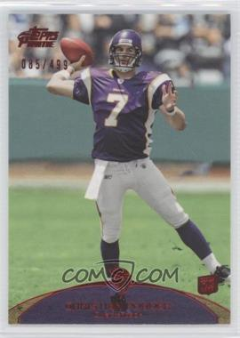 2011 Topps Prime Red #61 - Christian Ponder /499