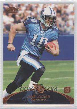 2011 Topps Prime Retail Bronze #82 - Jake Locker
