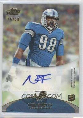 2011 Topps Prime Rookie Autographs Gold #21 - Nick Fairley /50