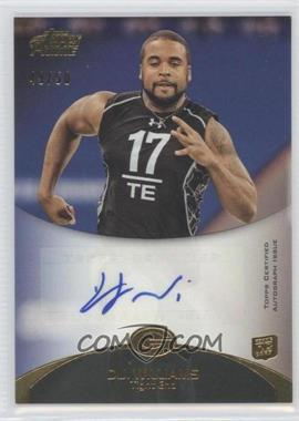 2011 Topps Prime Rookie Autographs Gold #24 - D.J. Williams /50