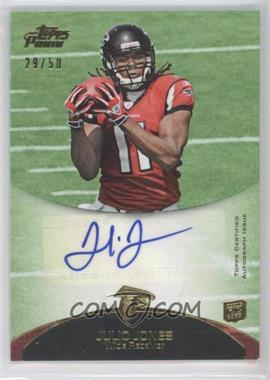 2011 Topps Prime Rookie Autographs Gold #52 - Julio Jones /50