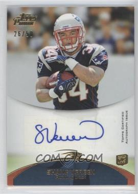 2011 Topps Prime Rookie Autographs Gold #63 - Shane Vereen /50