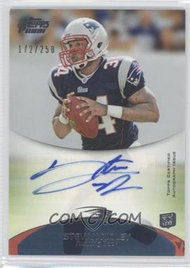 2011 Topps Prime Rookie Autographs #114 - Stevan Ridley /250
