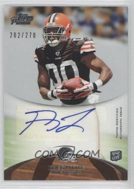 2011 Topps Prime Rookie Autographs #148 - Greg Little /270