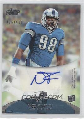 2011 Topps Prime Rookie Autographs #21 - Nick Fairley
