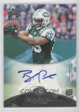 2011 Topps Prime Rookie Autographs #3 - Bilal Powell /99